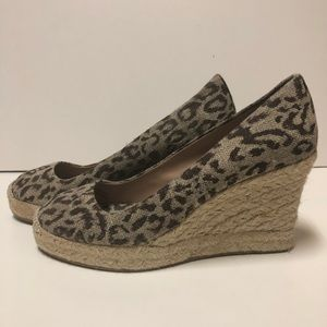 J.Crew Animal print Shoes